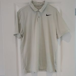 Nike Golf Dri-Fit Polo Size Large